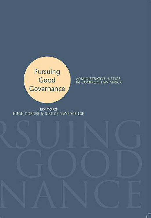 Picture of Pursuing Good Governance Ebook