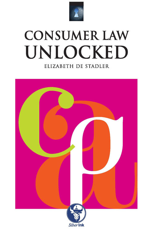 Picture of Consumer Law Unlocked Ebook