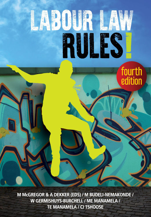 Picture of Labour Law Rules! Fourth Edition - ebook