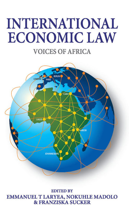 Picture of International Economic Law: Voices of Africa Ebook